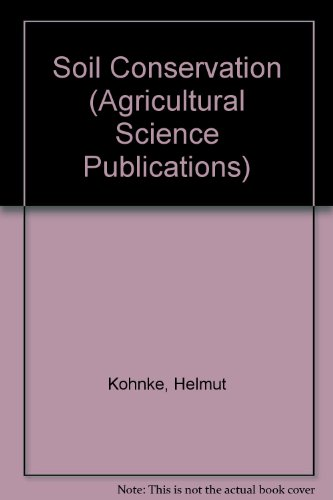 9780070352858: Soil Conservation (Agricultural Science Publications)