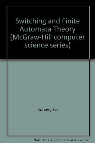 9780070353107: Switching and Finite Automata Theory (McGraw-Hill Computer Science Series)