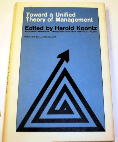 9780070353244: Toward Unified Theory of Management