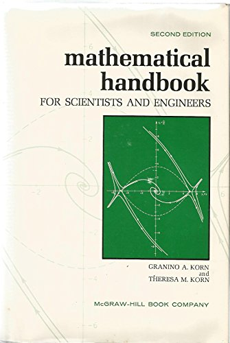 9780070353701: Mathematical Handbook for Scientists and Engineers