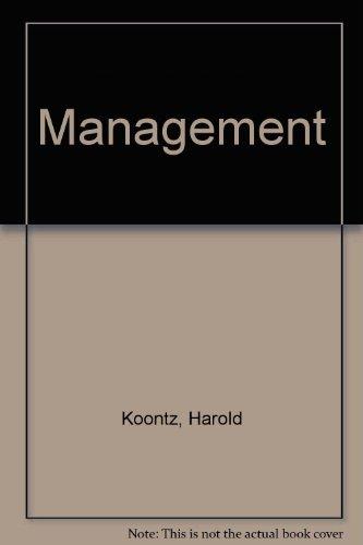 heinz weihrich harold koontz - AbeBooks