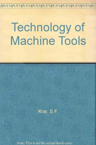 9780070353831: Technology of machine tools
