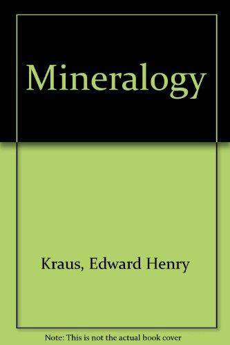 9780070353886: Mineralogy