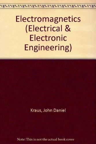 9780070353954: Electromagnetics (Electrical & Electronic Engineering)