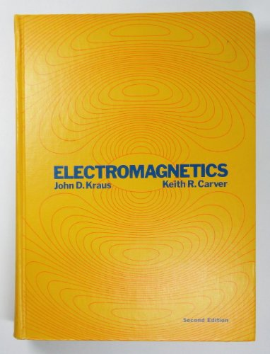 9780070353961: Electromagnetics (McGraw-Hill electrical and electronic engineering series)