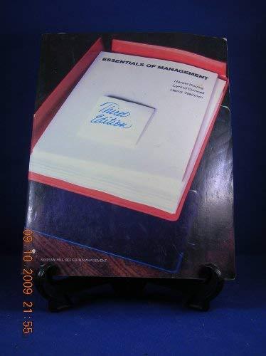 9780070354197: Essentials of Management