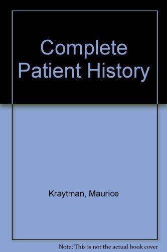 9780070354210: Complete Patient History