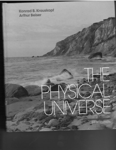 9780070354845: The physical universe