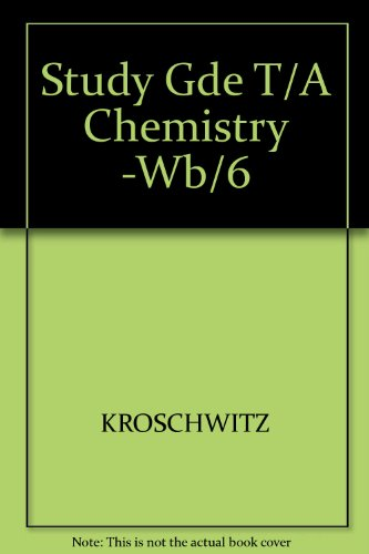 9780070355378: Chemistry: General Organic Bilogical Study Guide