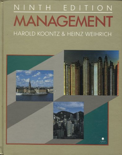 9780070355521: Management (McGraw-Hill Series in Management)