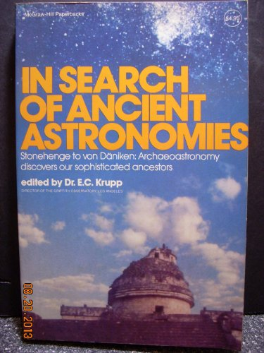 9780070355569: In Search of Ancient Astronomies (Mcgraw-Hill Paperbacks)