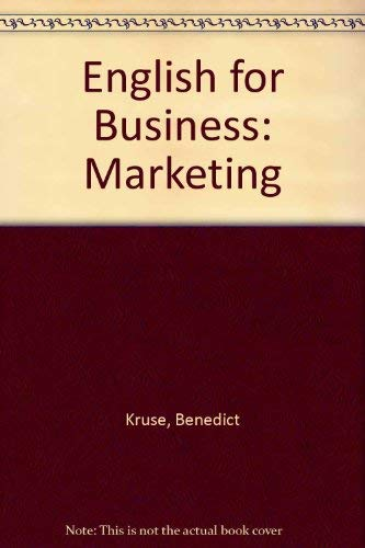 9780070355576: English for Business: Marketing