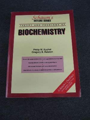 9780070355798: Biochemistry Schaums Outline Series