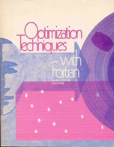 9780070356061: Optimization Techniques With Fortran