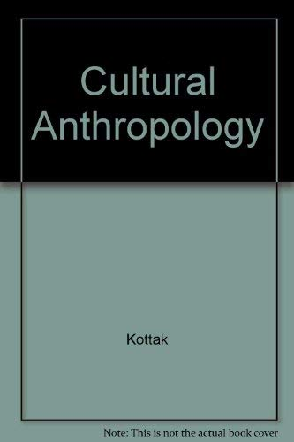 9780070356153: Cultural Anthropology