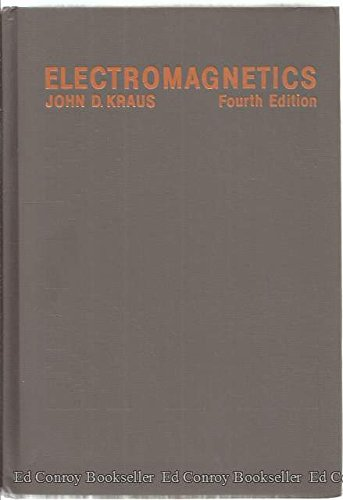 9780070356214: Electromagnetics (Mcgraw-Hill Series in Electrical Engineering. Electromagnetics)