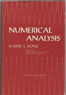 9780070356306: Numerical Analysis