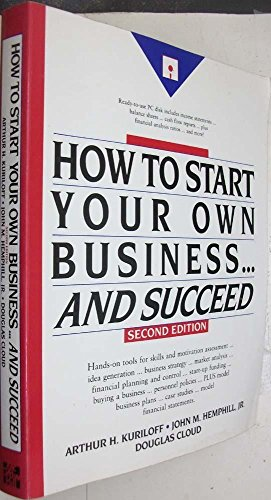 9780070357150: How to Start Your Own Business- And Succeed
