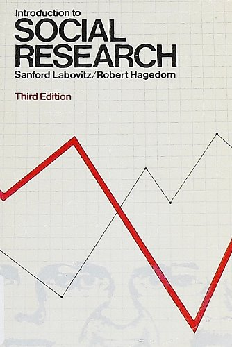 9780070357778: Introduction to Social Research