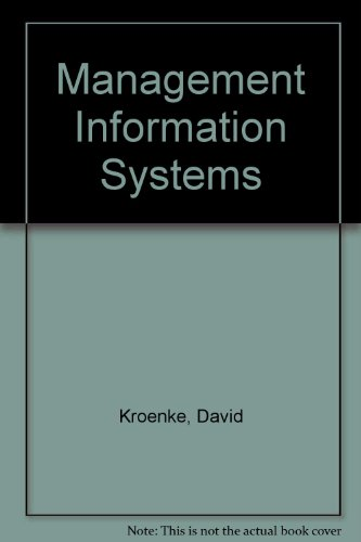 9780070357877: Management Information Systems