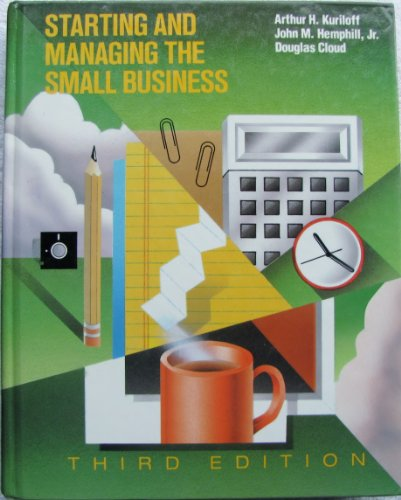 9780070358256: Starting and Managing the Small Business (Mcgraw Hill Series in Management)