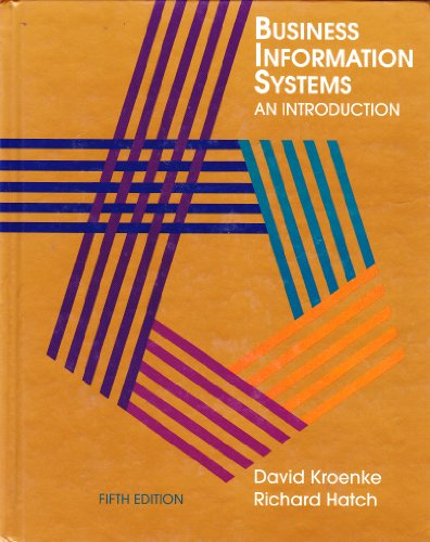 9780070358713: Business Information Systems