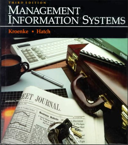 9780070359383: Management Information Systems