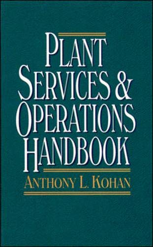 9780070359406: Plant Services & Operations Handbook