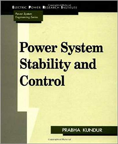 9780070359581: Power System Stability and Control (EPRI Power System Engineering)