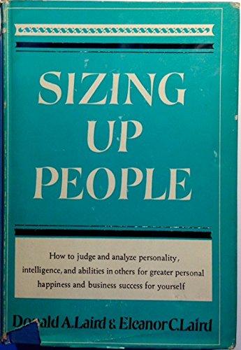 9780070360068: Sizing Up People