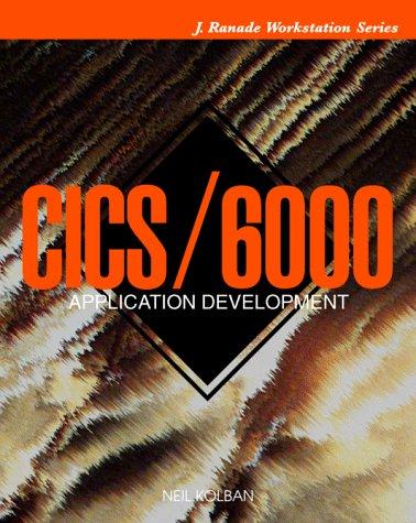 9780070360235: CICS/6000 Application Development (J. Ranade workstation)
