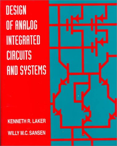 9780070360600: Design of Analog Integrated Circuits and Systems