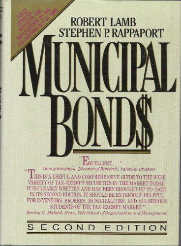 9780070360846: Municipal Bonds: The Comprehensive Review of Municipal Securities and Public Finance