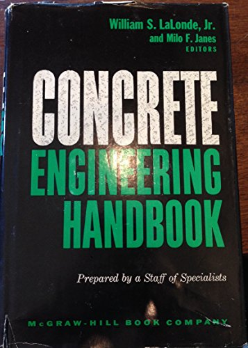9780070360891: Concrete Engineering Handbook