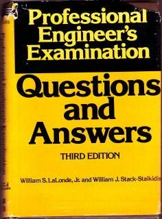 9780070360938: Professional Engineer's Examinations: Questions and Answers