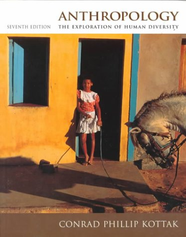 9780070361829: Anthropology: The Exploration of Human Diversity