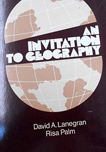9780070362161: An Invitation to Geography (Geography Series)