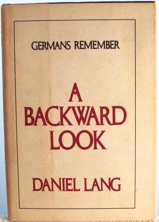 9780070362390: A Backward Look: Germans Remember