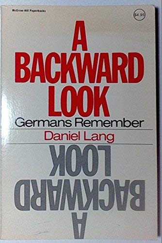 9780070362413: Backward Look: Germans Remember