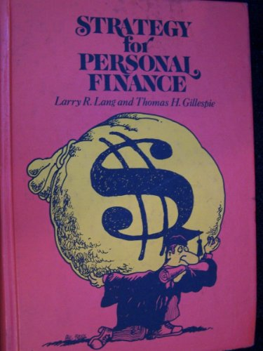 9780070362475: Strategy for Personal Finance (McGraw-Hill series in finance)