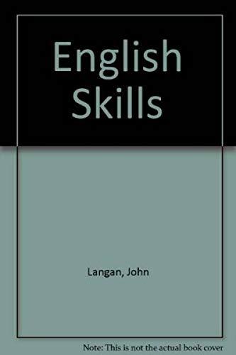 9780070362536: English Skills