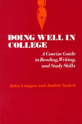 9780070362628: Doing Well in College: A Concise Guide to Reading, Writing, and Study Skills