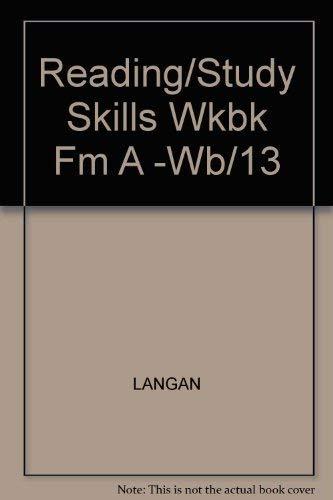 9780070362635: Reading/Study Skills Wkbk Fm A -Wb/13