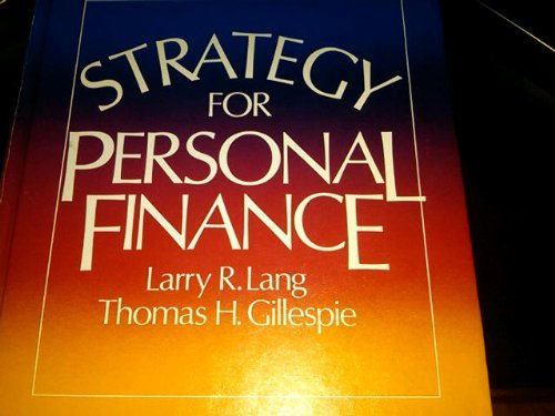 9780070362819: Strategy for personal finance (McGraw-Hill series in finance)