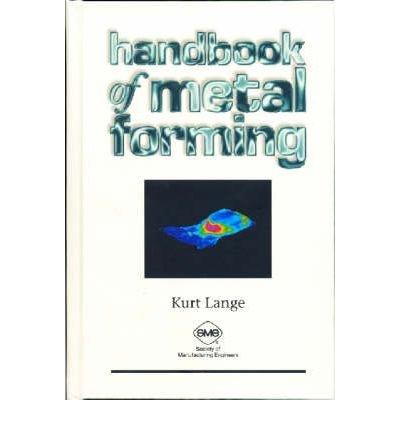 9780070362857: Handbook of Metal Forming