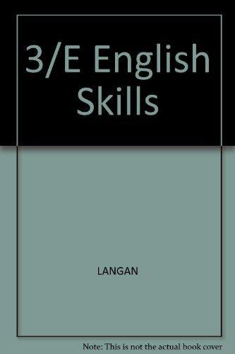 9780070362963: 3/E English Skills