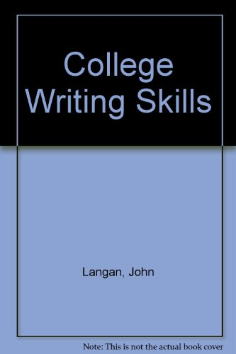 9780070363014: College writing skills, with readings