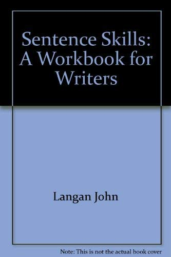 9780070363052: Sentence skills: A workbook for writers