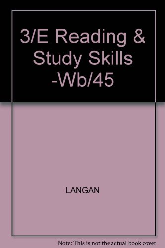 9780070363120: Reading and Study Skills, Form B