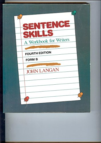 9780070363441: Sentence Skills: A Workbook for Writers : Form B